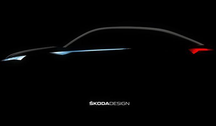 Skoda : le Vision E en teaser semble annoncer le Kodiaq Coupé