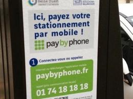 Le paiement du stationnement par smartphone mis en place à Paris