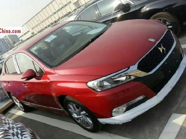 La Citroën DS 5LS chinoise se fait surprendre