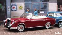 Miniature : 1/43ème - MERCEDES 220SE cabriolet