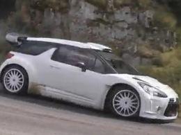 [vidéo] la Citroën DS3 WRC en test avec Stéphane Sarrazin