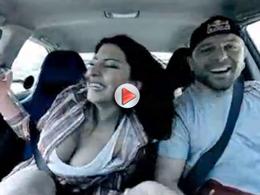 [vidéo] Du drift, des passagers secoués, des cris et une régression
