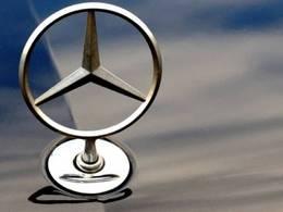 Mercedes à l'amende en Chine