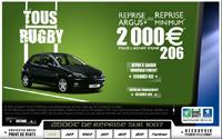 Le « Tous Rugby » : Peugeot au dessus de la mêlée