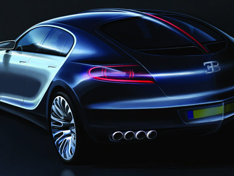 "Future Bugatti Galibier: ""plus de 1000 ch et plus de 378 km/h"""
