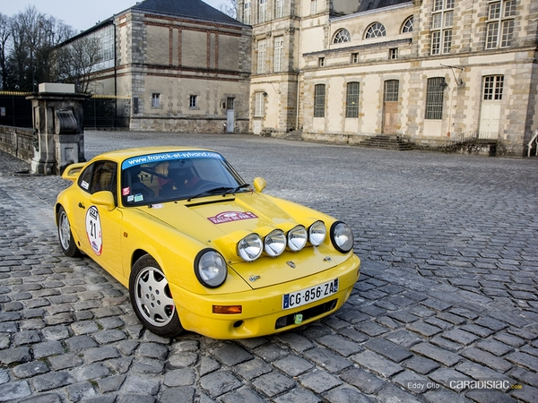 Photos du jour : Porsche 911 (Rallye de Paris)