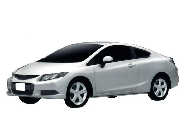Honda enregistre le design des futures Civic US en Europe
