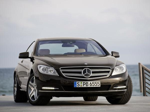 Nouveau Mercedes CL : restyling haut de gamme