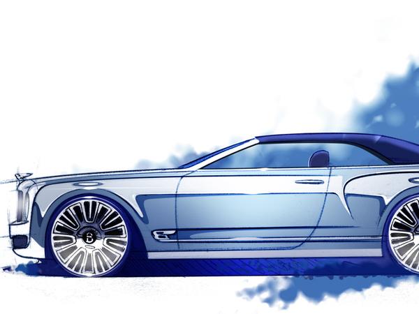 Bentley Mulsanne Vision Concept : présent à Paris ?