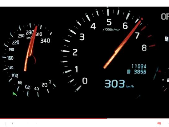 [vidéo] un petit 0 à 303 km/h en Nissan GT-R 2011