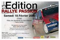 Soirée Rallye Passion 2006 le 18 février à Saint-Etienne