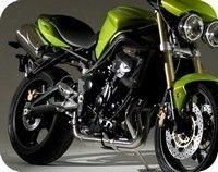 Street triple: 1 moto, 3 amortisseurs... by Ohlins