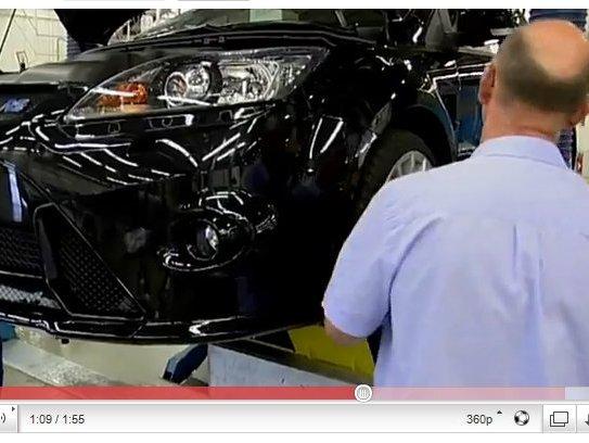 Ford Focus RS500 : sa construction en vidéo