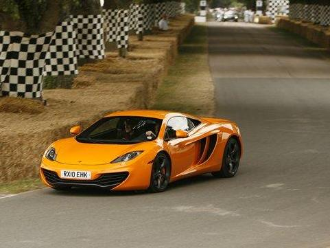 Goodwood 2010 : la McLaren MP4-12C rugit en vidéo