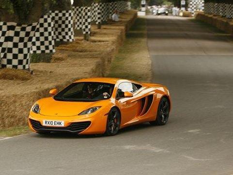 Goodwood 2010 : la McLaren MP4-12C rugit en vidéo