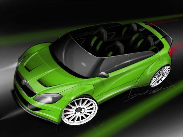 Skoda RS 2000 Design Concept: de l'inédit