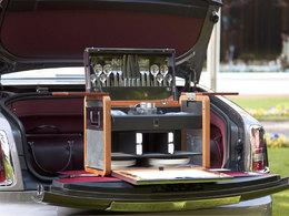 Pique-niquer avec classe en Rolls Royce ? C'est possible