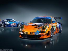 Le Mans 2011 - Porsche 911 Flying Lizard: une déco remarquable!
