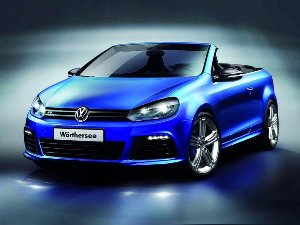 Wörthersee Tour 2011 : VW Golf R cabriolet Concept, 270 ch la tête dans les étoiles