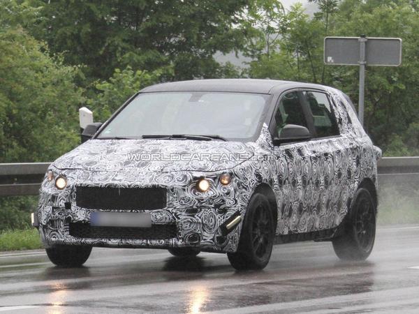 Surprise : la future petite BMW traction est de sortie