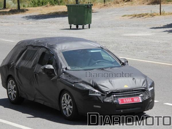 Spyshot : serait-ce la Peugeot 508 break ?