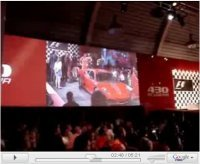 La vidéo du jour : présentation privée de la Ferrari F430 Scuderia