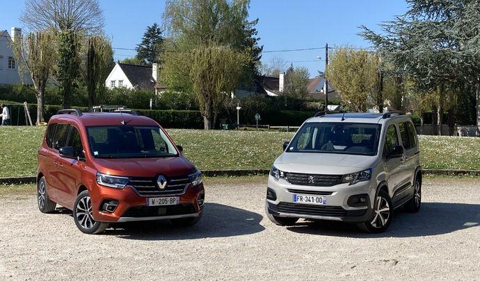 Comparatif vidéo - Renault Kangoo VS Peugeot Rifter : duel de spécialistes