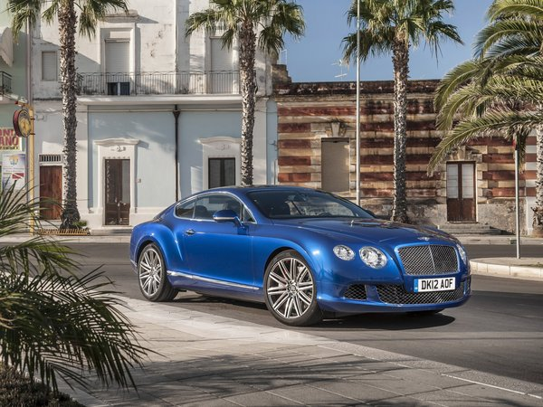 Bentley Continental GT Speed : sportive et distinguée