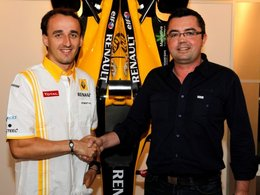 F1 : Kubica signe chez Renault jusqu'en 2012