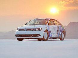 298 km/h en Volkswagen Jetta hybride