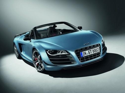 Audi dévoile sa R8 GT Spyder !
