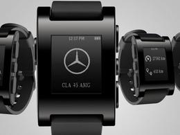 Technologie: Daimler pile à l'heure de la montre connectée