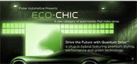 Fisker 'Eco-Chic' à Détroit