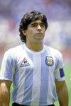 Maradona tacle deux piétons avec son 4x4