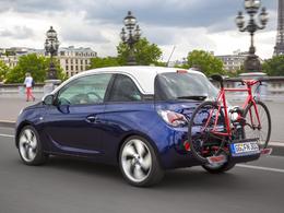 """La nouvelle Opel ADAM est """"vélo compatible"""""""