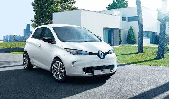 Renault propose une Zoe d'occasion à 4 € par jour