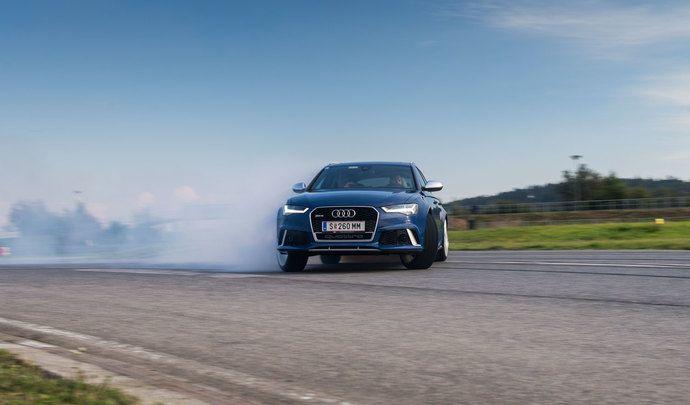 """Contrairement à ses concurrents, Audi dit """"non"""" au mode drift"""