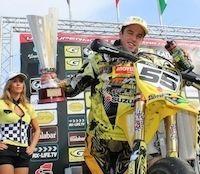 Supermotard, championnat d'Europe 2012, GP de France: Guerin sur la seconde marche!