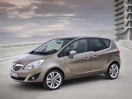 Une version GPL du Nouvel Opel Meriva en 2011