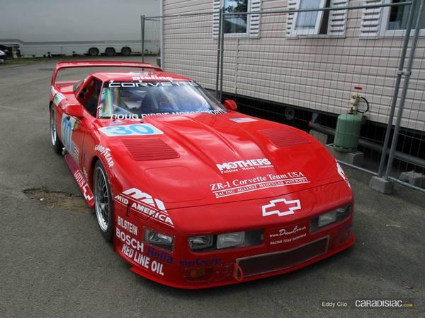 Photos du jour : Chevrolet Corvette ZR-1 Le Mans 1995 (Le Mans Classic)