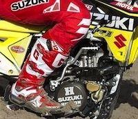 Gaerne sponsor du team MX Suzuki pour les saisons 2016 et 2017