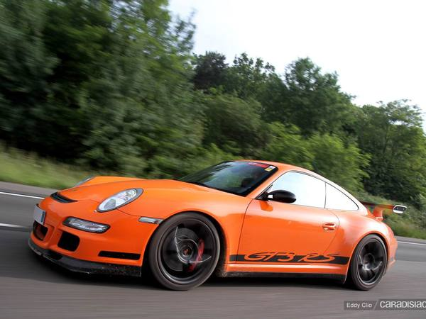 Photos du jour : Porsche 911 997 GT3 RS