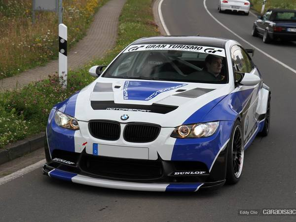 Photos du jour : BMW M3 GT (Nürburgring)