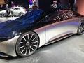 Mercedes Vision EQS : future Classe S - En direct du salon de Francfort 2019