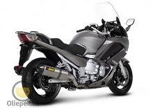 Actualité moto - Yamaha: La dernière FJR prise par derrière