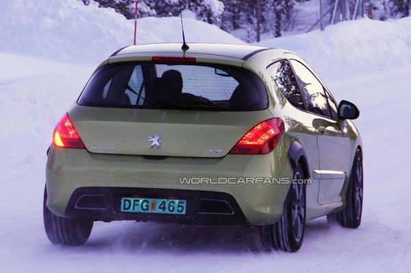Peugeot 308 RC ou mulet de RC Z Coupe ?