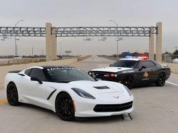 Hennessey fait dépasser les 320 km/h à la Corvette C7