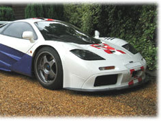 (Minuit chicanes) Visite (virtuelle) de Lanzante Ltd, convertisseur de McLaren F1