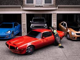 Dans le garage de Nate Robinson (Pontiac, Porsche, Cadillac...)