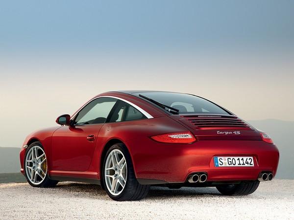 Nouvelle Porsche 911 Targa: l'instant teasing